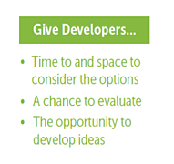 Give Developers
